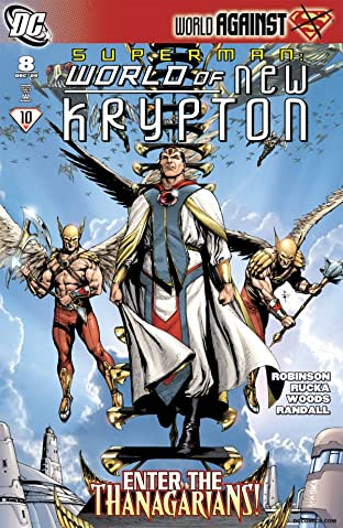 Superman: The World of New Krypton #8 (of 12)