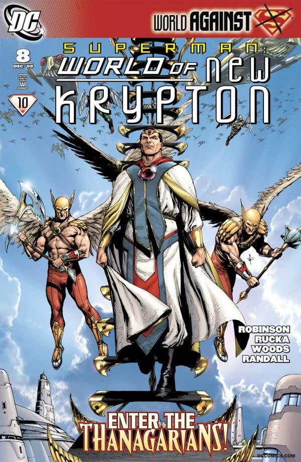 Superman: The World of New Krypton #8