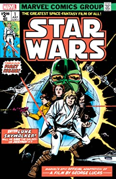 Star Wars (1977-1986) #1: Facsimile Edition