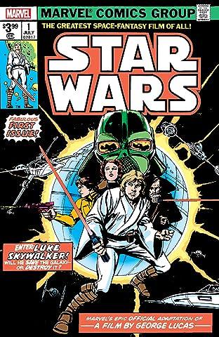 Star Wars (1977-1986) No.1: Facsimile Edition