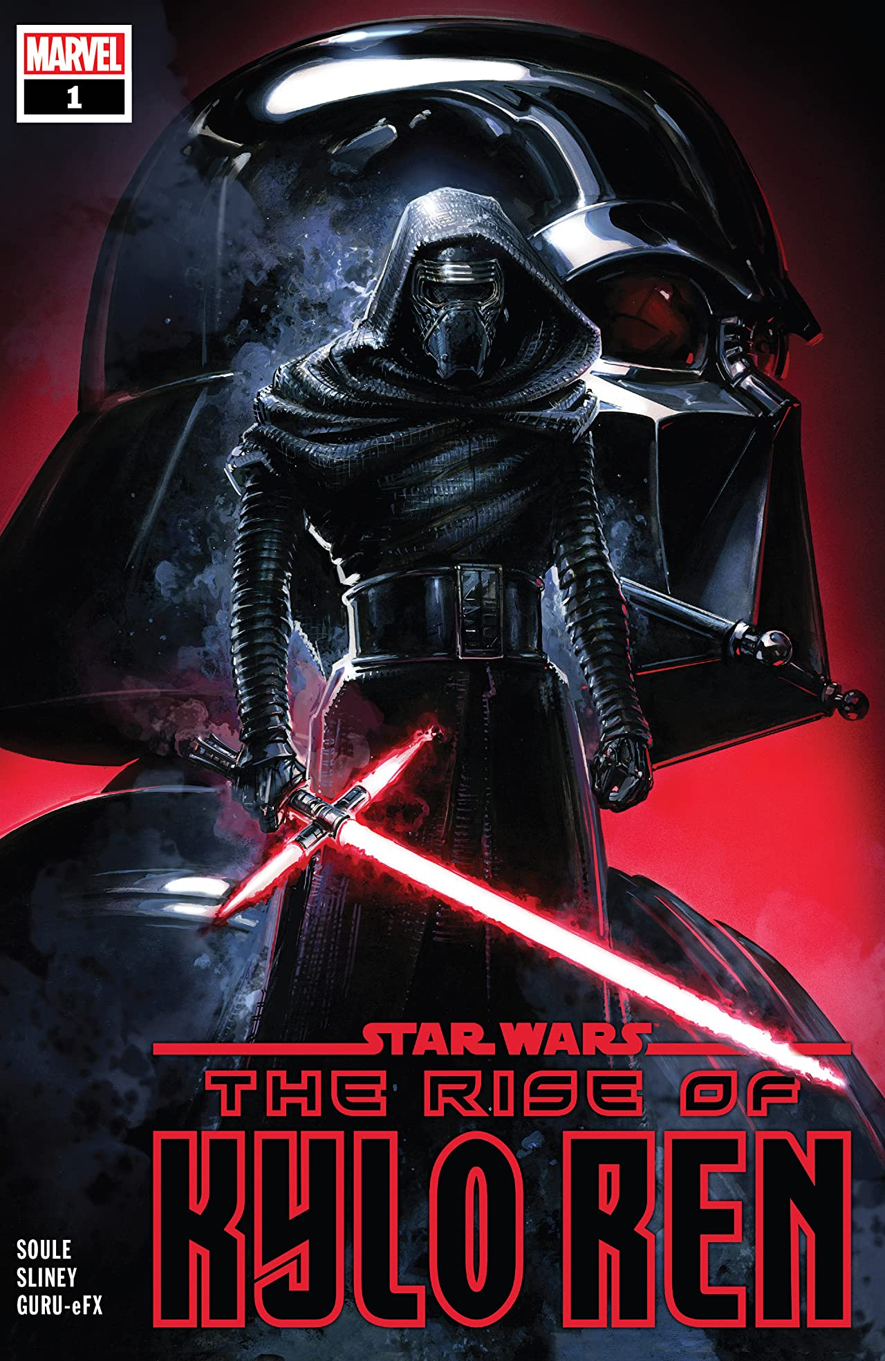 Star Wars: The Rise Of Kylo Ren (2019-) No.1 (sur 4)