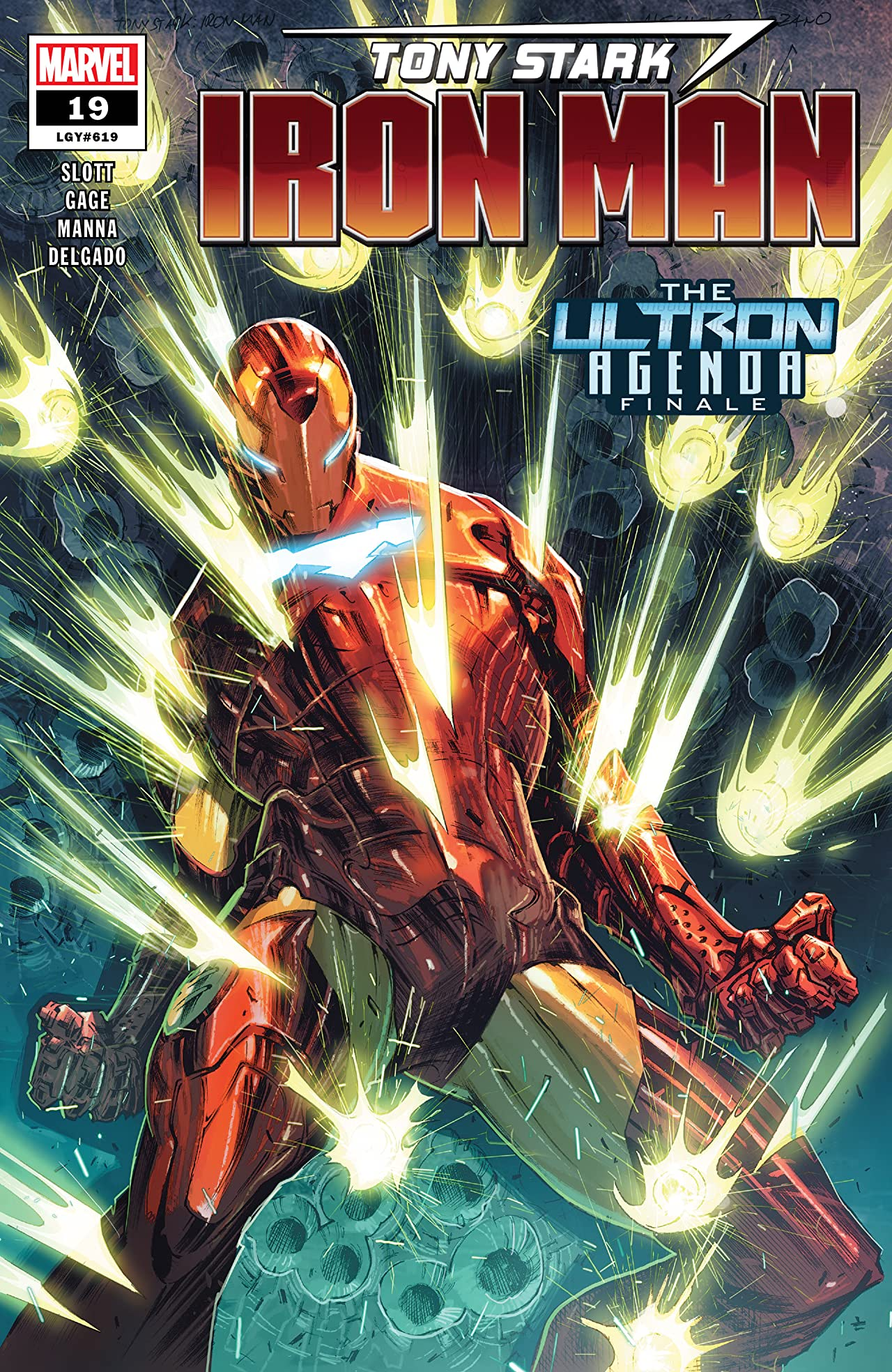 Tony Stark: Iron Man (2018-) No.19