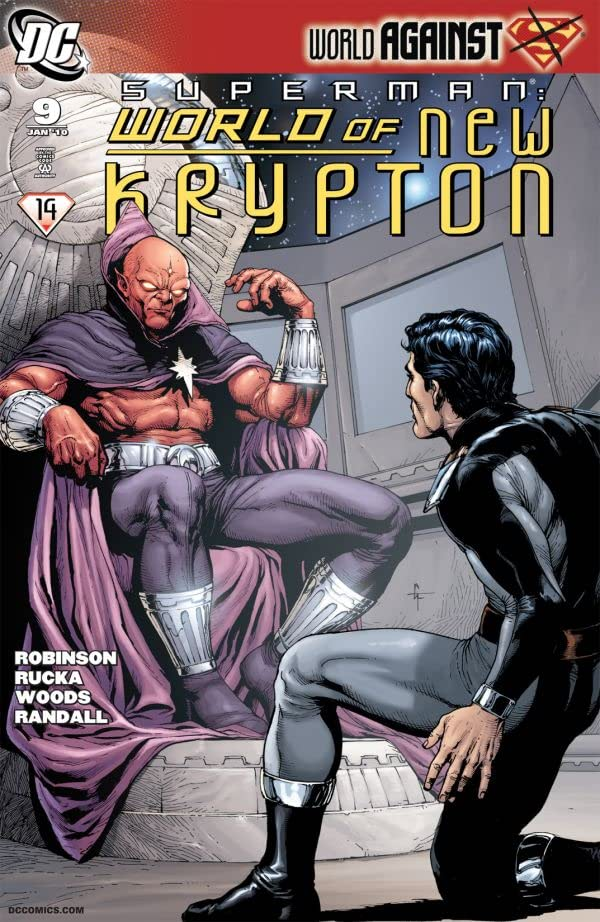 Superman: The World of New Krypton #9