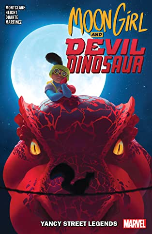 Moon Girl and Devil Dinosaur Vol. 8: Yancy Street Legends