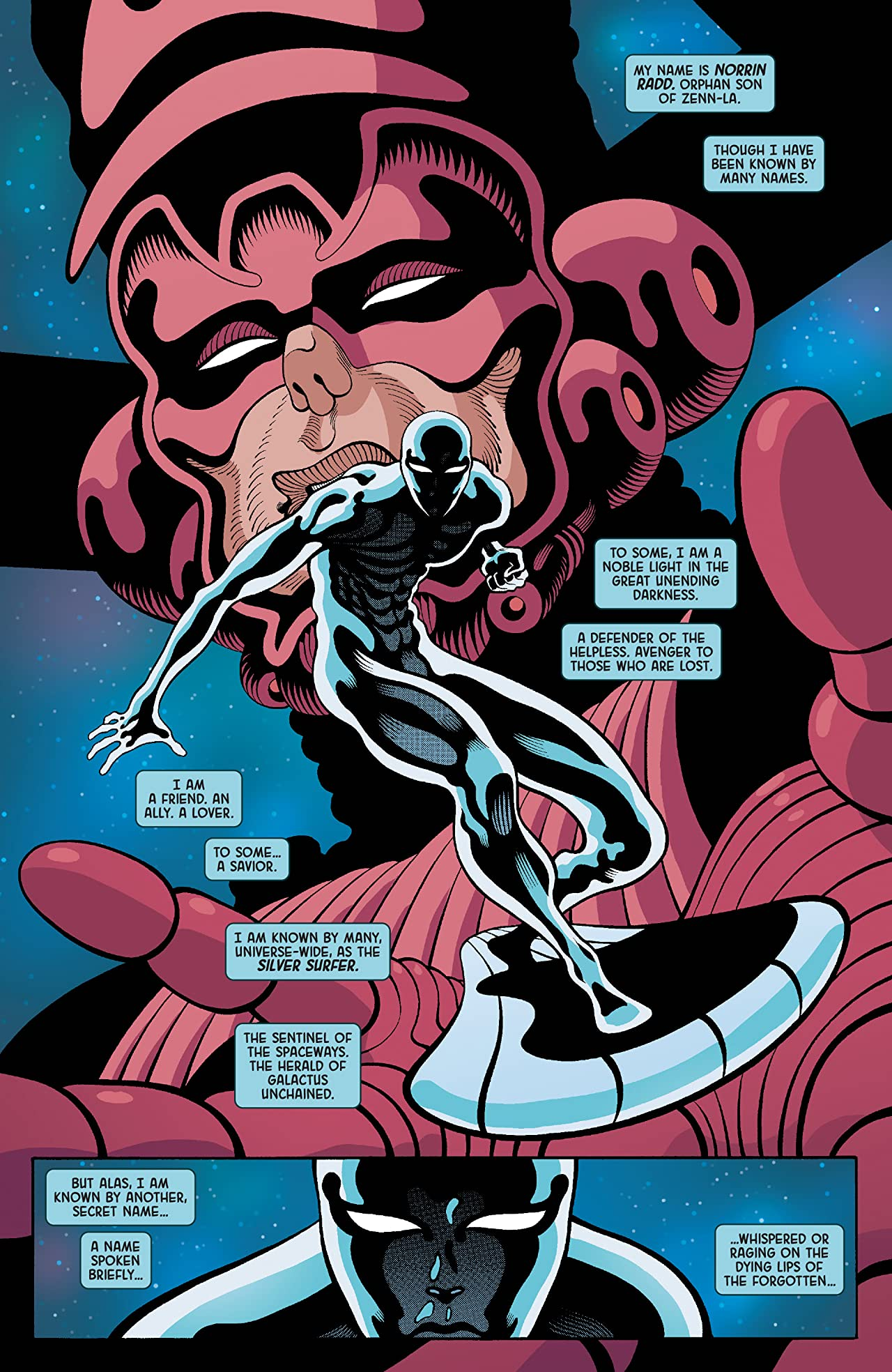 Silver Surfer: Black