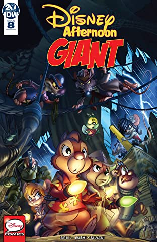 Disney Afternoon Giant No.8