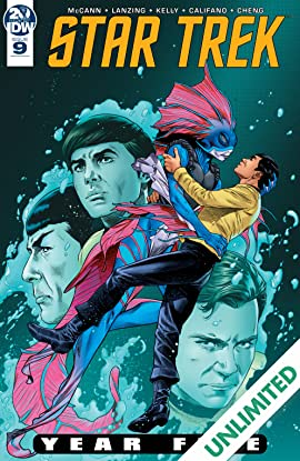 Star Trek: Year Five #9