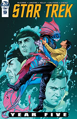Star Trek: Year Five No.9
