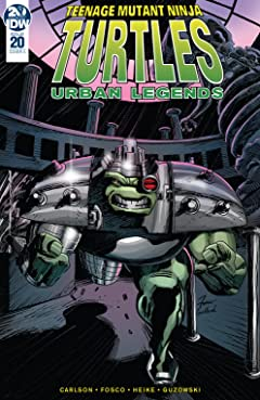 Teenage Mutant Ninja Turtles: Urban Legends #20