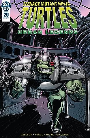 Teenage Mutant Ninja Turtles: Urban Legends #20