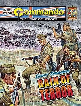 Commando #4495: Convict Commandos: Rain Of Terror