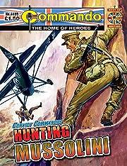 Commando #4499: Convict Commandos: Hunting Mussolini