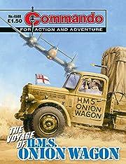 Commando #4508: The Voyage Of H.M.S. Onion Wagon