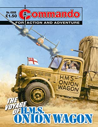 Commando #4508: The Voyage Of H.M.S. Onion Wagon