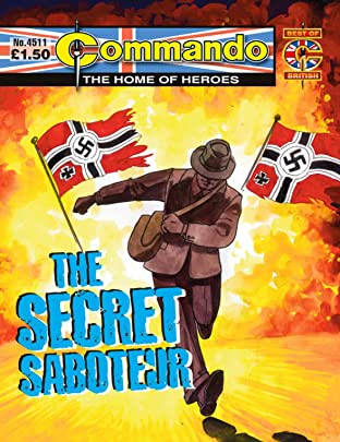 Commando #4511: The Secret Saboteur