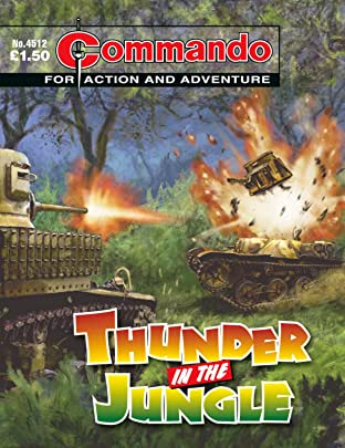 Commando #4512: Thunder In The Jungle