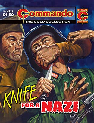 Commando #4513: Knife For A Nazi