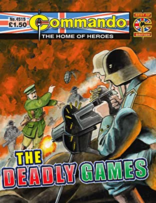 Commando #4515: The Deadly Games