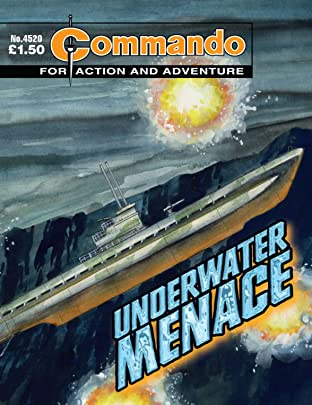 Commando #4520: Underwater Menace