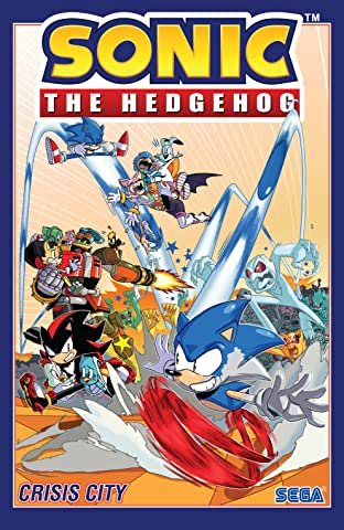 Sonic the Hedgehog Tome 5: Crisis City