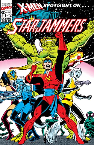 X-Men: Spotlight On Starjammers (1990) #1 (of 2)