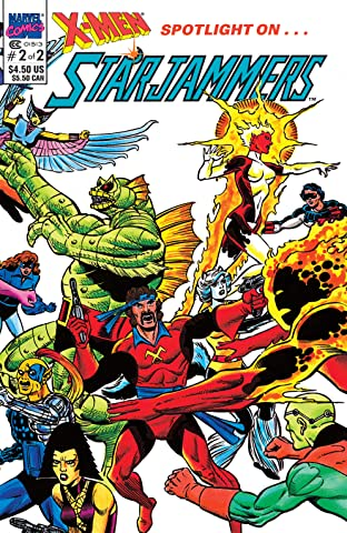 X-Men: Spotlight On Starjammers (1990) #2 (of 2)