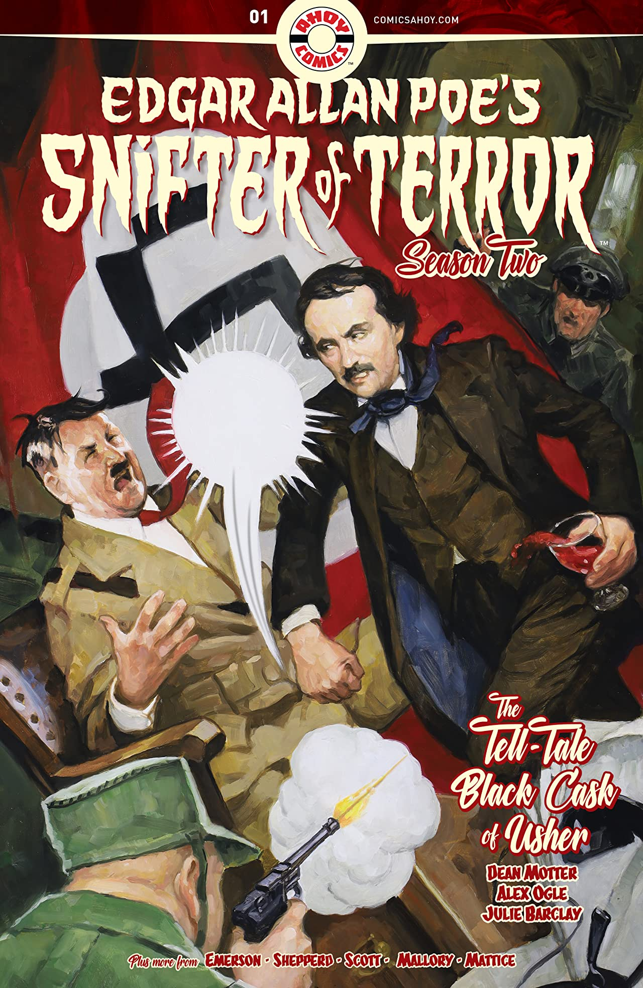 Edgar Allan Poe's Snifter of Terror Vol. 2 #1