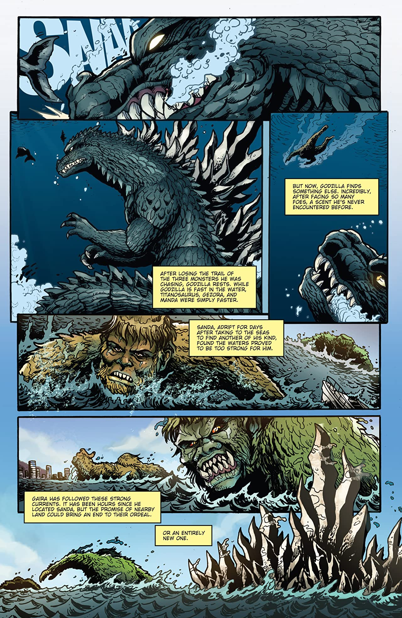 Godzilla: Rulers of Earth #10