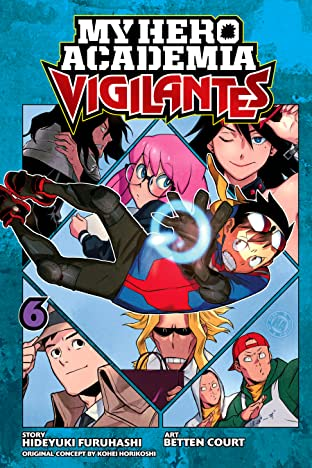 My Hero Academia: Vigilantes Vol. 6