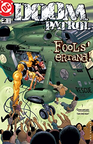 Doom Patrol (2001-2003) No.2