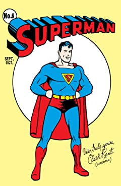 Superman (1939-2011) No.6