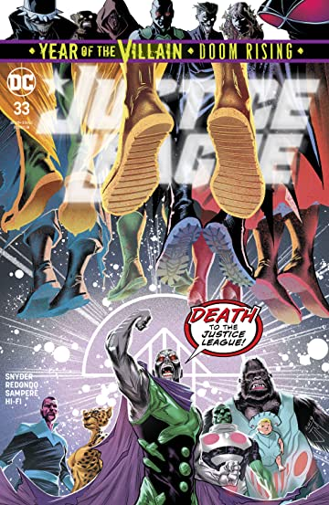 Justice League (2018-) #33