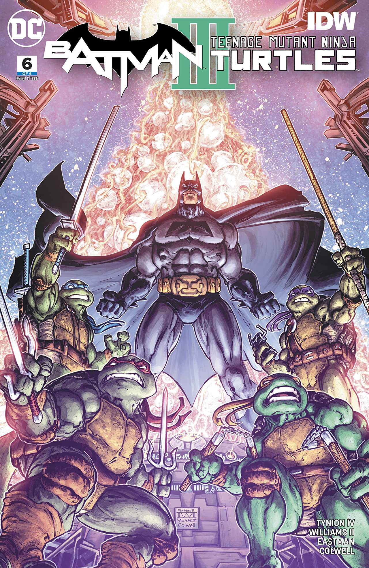 Batman/Teenage Mutant Ninja Turtles III (2019-) No.6