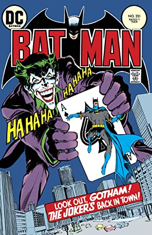Batman (1940-2011) #251: Facsimile Edition