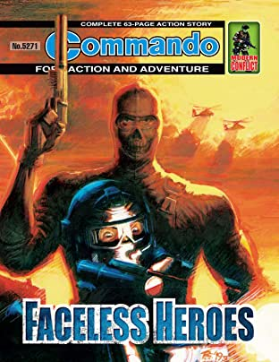 Commando #5271: Faceless Heroes