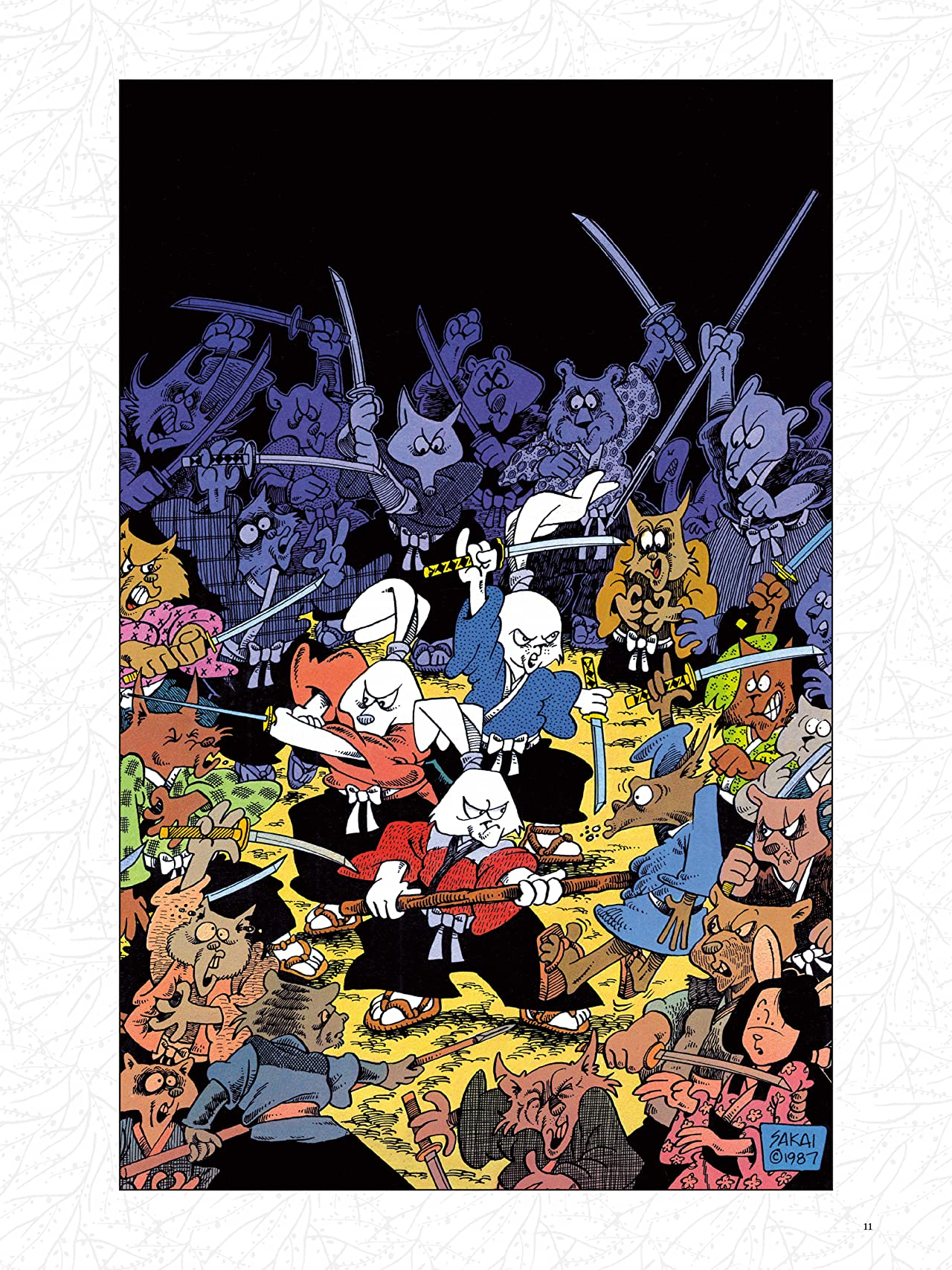 Usagi Yojimbo: 35 Years of Covers