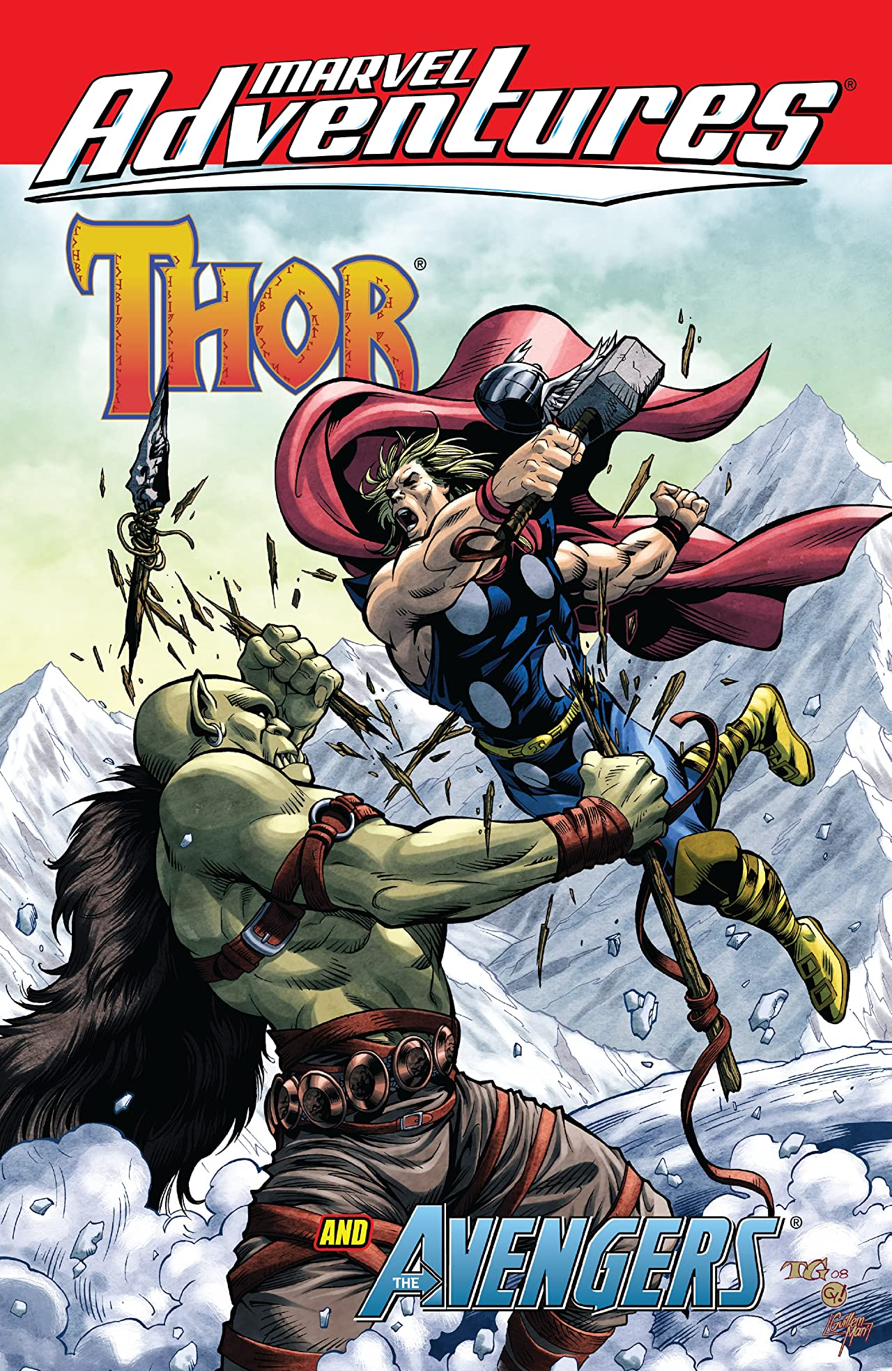 Marvel Adventures Thor And The Avengers
