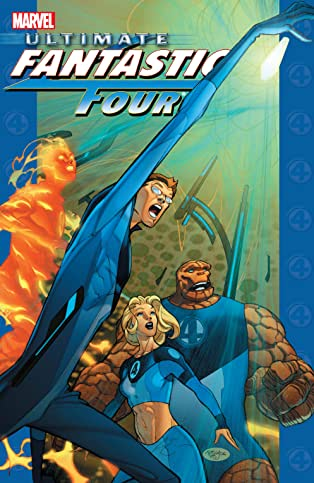 Ultimate Fantastic Four Collection Vol. 4