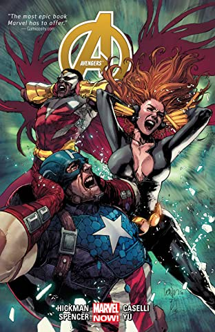 Avengers by Jonathan Hickman Tome 2