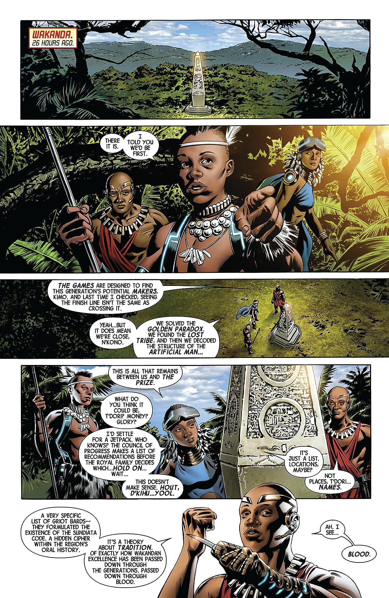 New Avengers by Jonathan Hickman Vol. 1