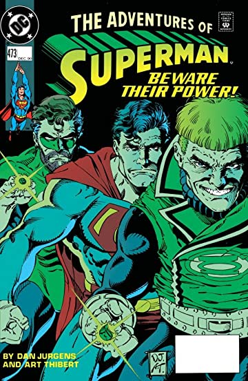 Adventures of Superman (1986-2006) #473