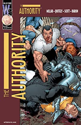 The Authority (1999-2002) No.22