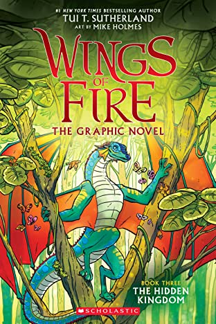 Wings of Fire Tome 3: The Hidden Kingdom