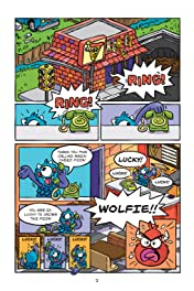 Wolfie Monster and the Big Bad Pizza Battle