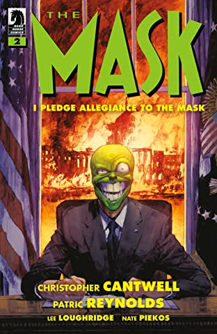 The Mask: I Pledge Allegiance to the Mask #2