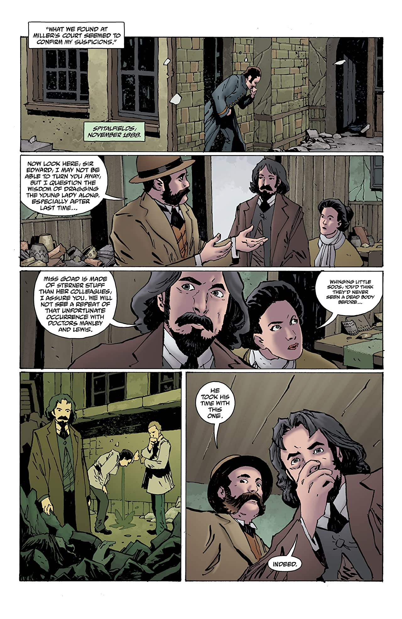 Witchfinder: The Reign of Darkness #1