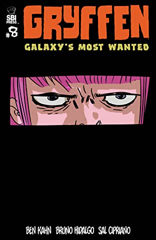 Gryffen: Galaxy's Most Wanted No.8