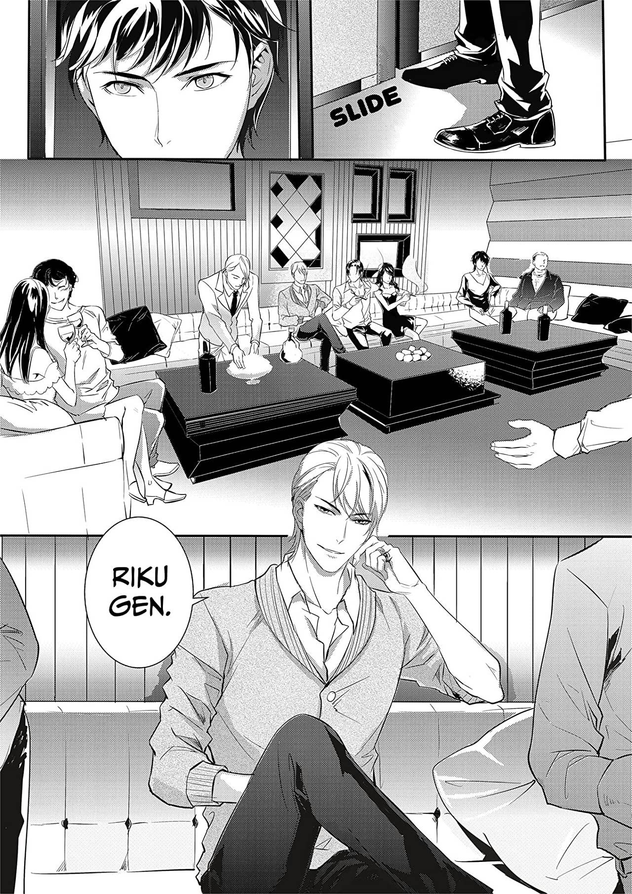 Absolute Obedience ~If you don't obey me~ (Yaoi Manga) Vol. 3