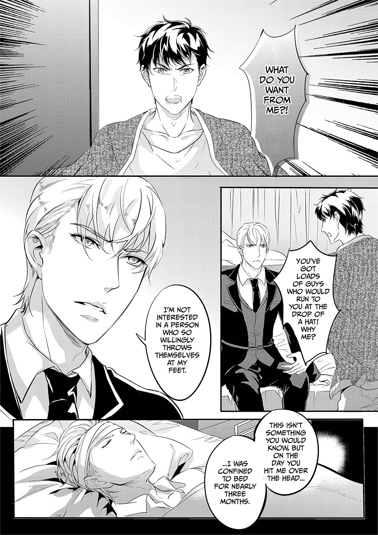 Absolute Obedience ~If you don't obey me~ (Yaoi Manga) Vol. 17