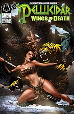 ERB Pellucidar: Wings of Death #2